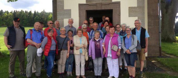 Wanderung zur Schnepfenkapelle