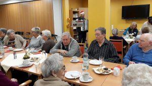 Waffelkaffee am 11.12.2017 im Seniorenheim AWO in Großenlüder